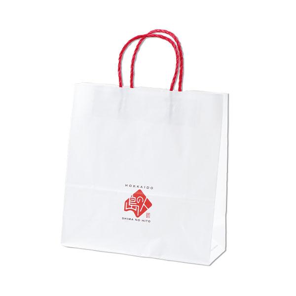 島の人 オリジナル 手提げ 紙袋